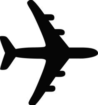 An image of plane depicting National coverage