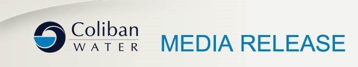 Coliban water media release logo