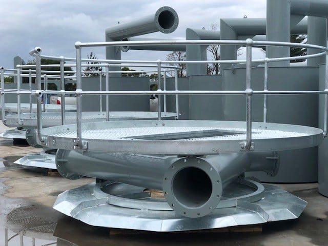 Maintenace Platform for Aerators